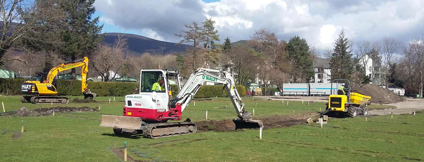 Photo: civil engineering projects from O'Malley Groundworks and Plant Hire, Penrith, Cumbria