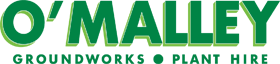 Logo: O'Malley Groundworks and Plant Hire