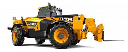 Photo: JCB telehandler